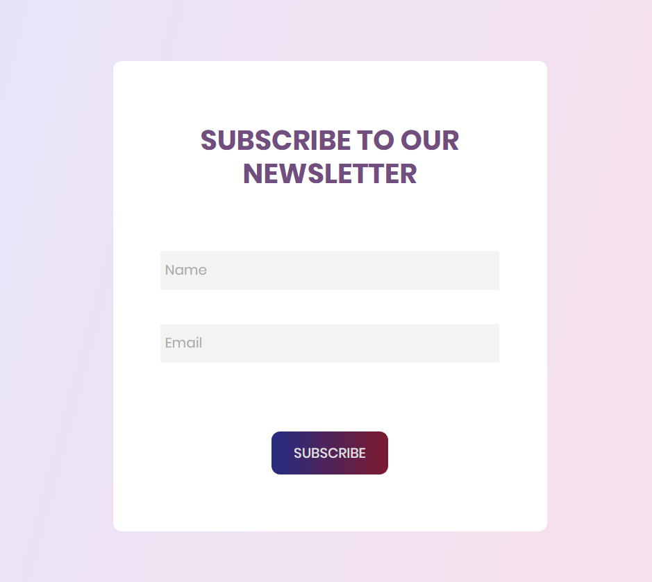 Subscribe Form 2_p